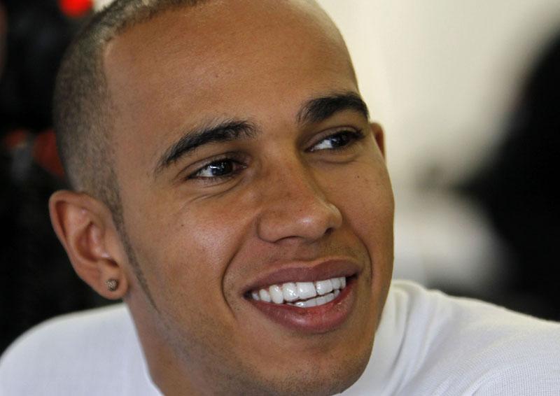 Hamilton ficou com o oitavo melhor tempo hoje