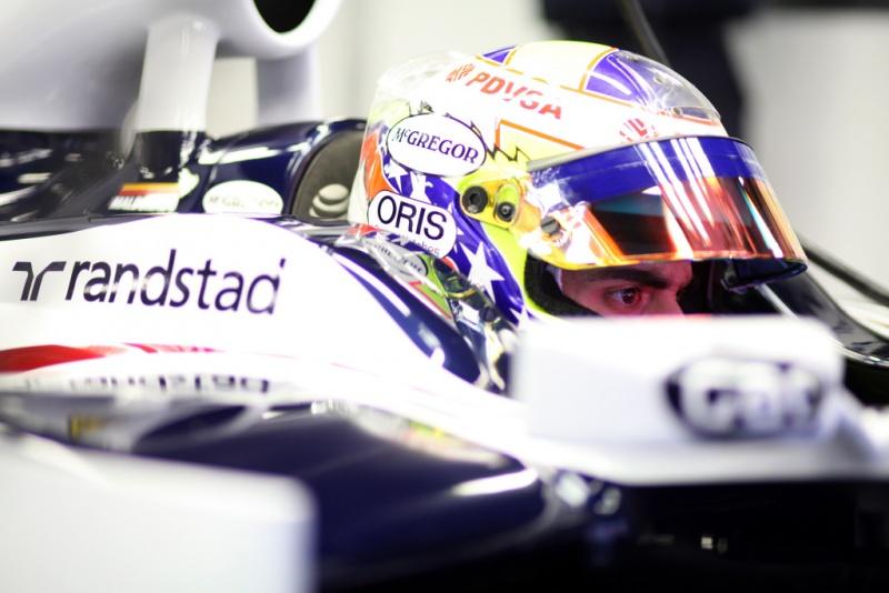 Maldonado terminou primeiro dia na F-1 em 18º