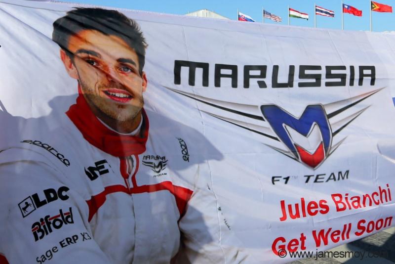 Bianchi segue em recuperação na França