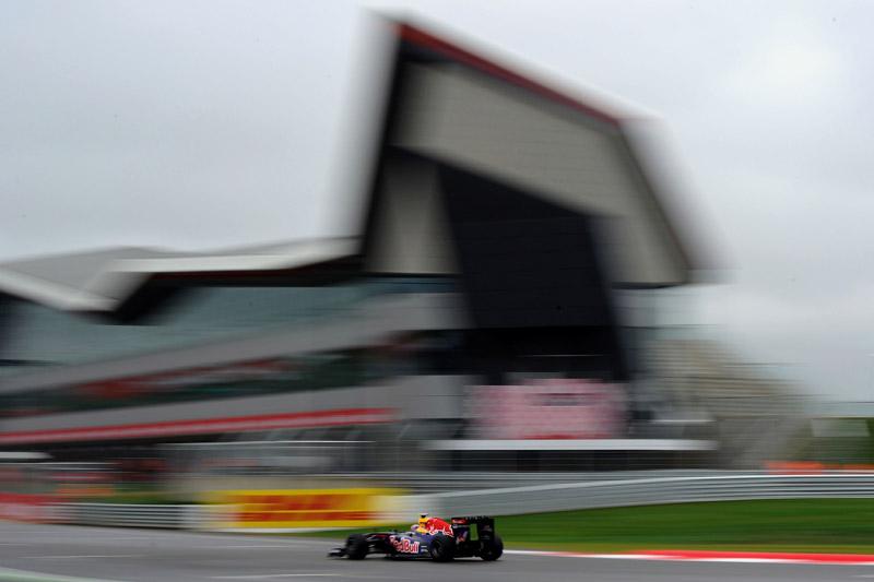 Webber voou baixo na parte final da classificação