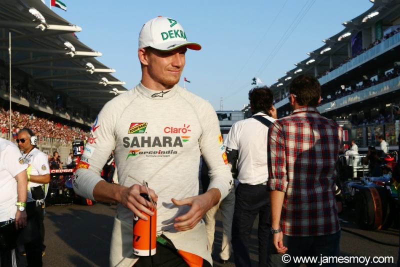 Alemão da Force India arrumou uma outra atividade para 2015