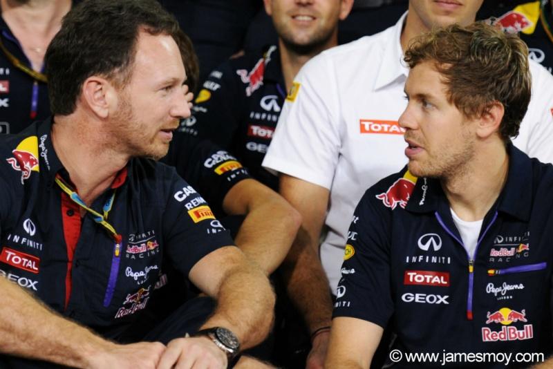 Horner prevê Vettel ainda melhor em 2015