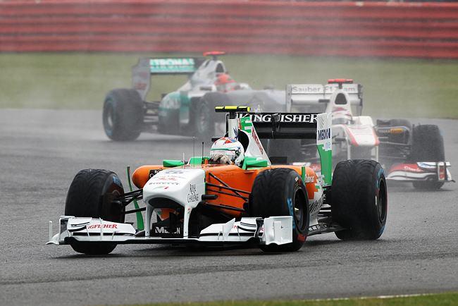 Paul di Resta em Silverstone