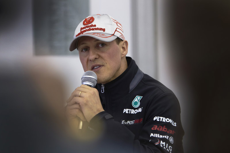Schumacher está otimista com o rendimento da Mercedes