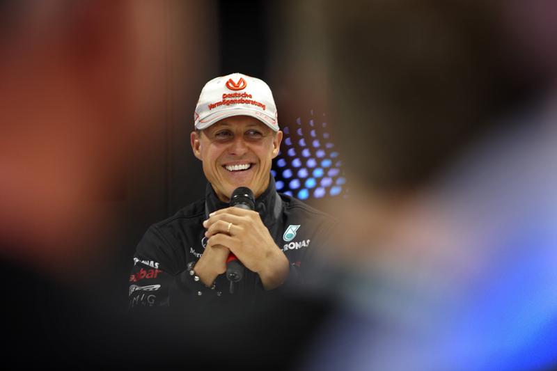 Schumacher reconhece que queria os testes de volta