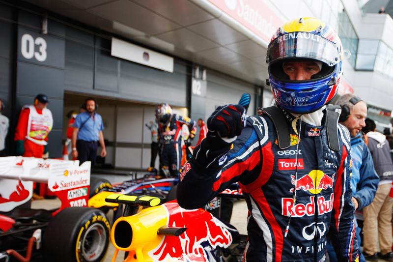 Webber confirmou que segue negociando a renovação de seu contrato