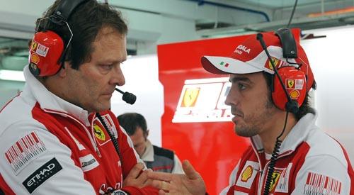 Aldo Costa e Fernando Alonso