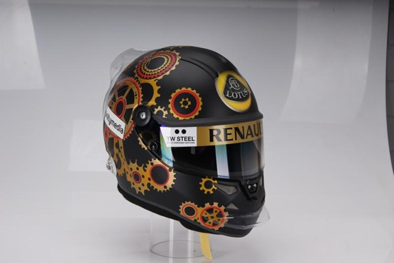 O capacete especial de Heidfeld para seu GP caseiro