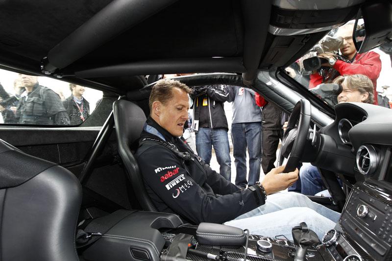 Schumacher já venceu por cinco vezes em Nurburgring