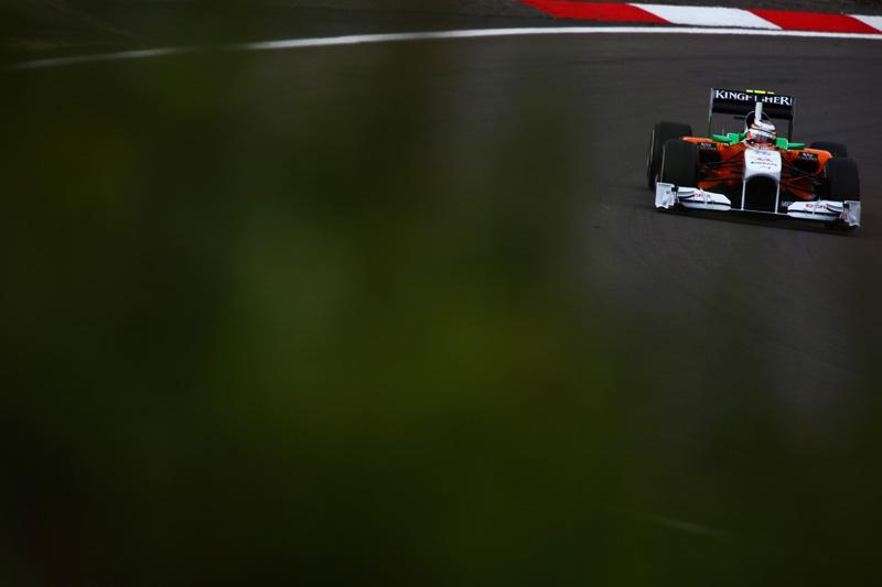 As Force India fecharam o dia em 10º e 12º