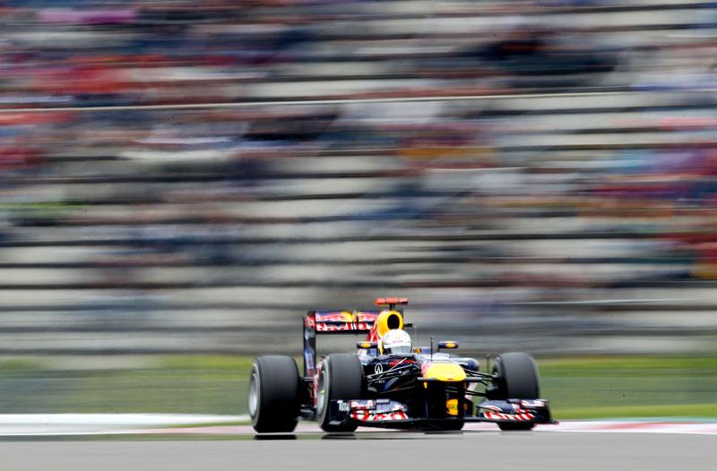 Vettel foi o mais rápido na terceira sessão de treinos livres
