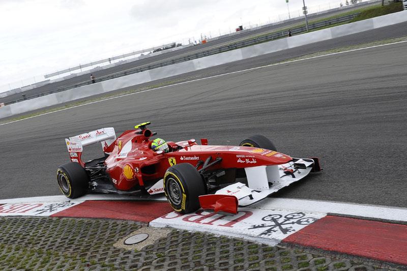 Massa larga em quinto no GP da Alemanha
