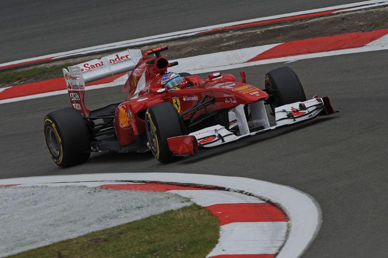 Alonso larga em quarto no GP da Alemanha