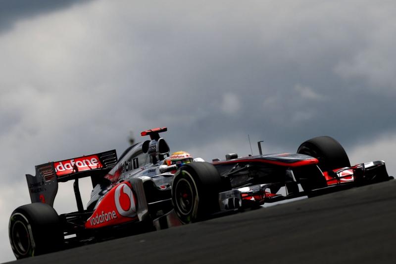 Lewis Hamilton, soberano em Nürburgring