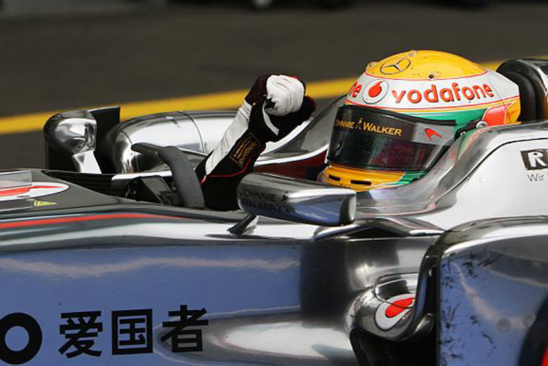 Hamilton venceu pela segunda vez no ano