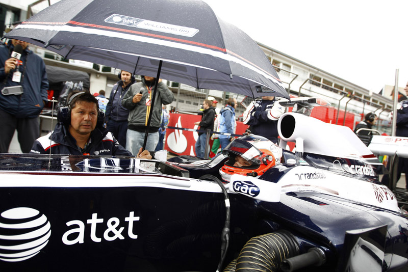 Barrichello teve um final de semana para esquecer em Nurburgring