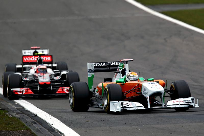 Adrian Sutil em Nürburgring