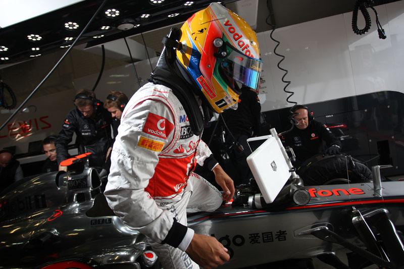Hamilton começou bem o final de semana de GP da Hungria