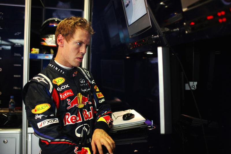 Sebastian Vettel: olhos arregalados para o equilíbrio na Hungria