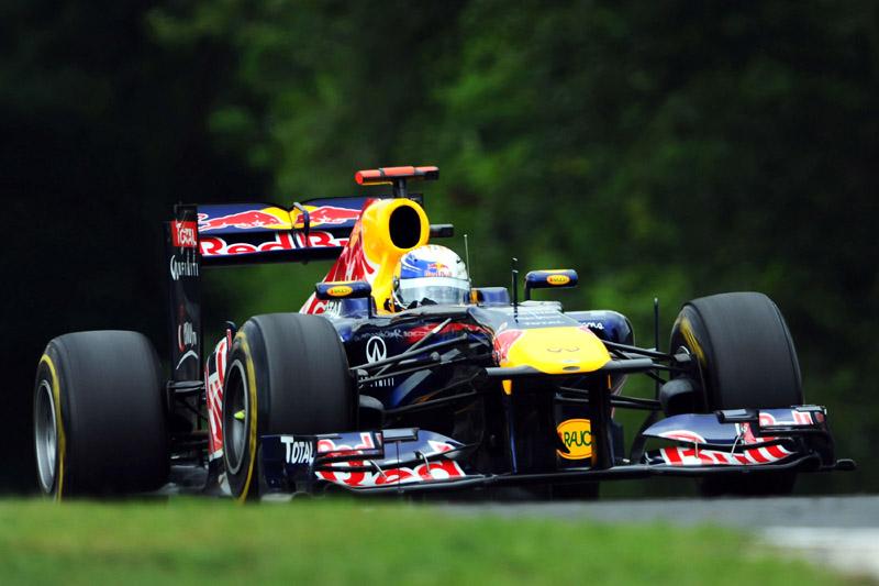 Sebastian Vettel em Hungaroring
