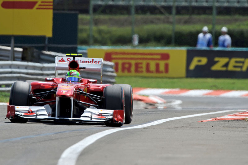 Felipe Massa em Hungaroring