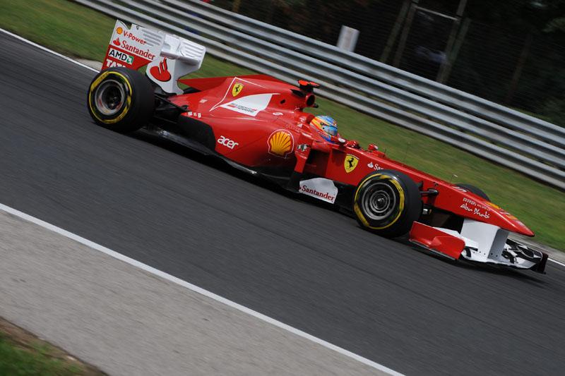 Alonso larga em quinto no GP da Hungria