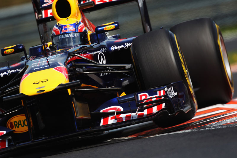 Webber larga em sua pior posição no ano na Hungria
