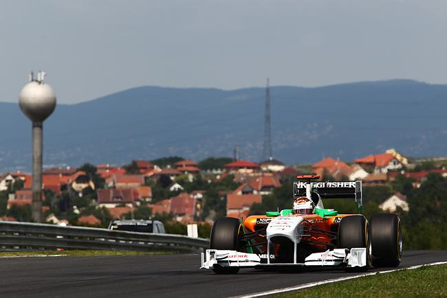 Adrian Sutil em Hungaroring
