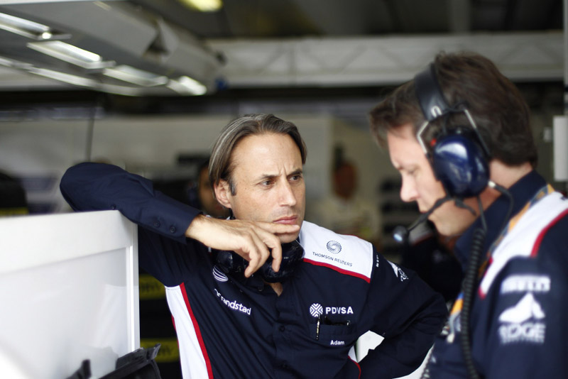 Adam Parr está otimista com futuro da Williams