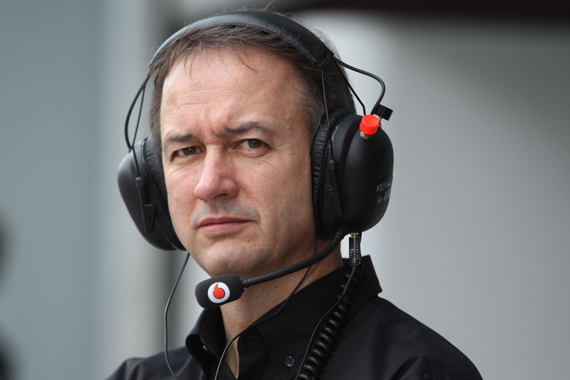 O diretor administrativo da McLaren, Jonathan Neale