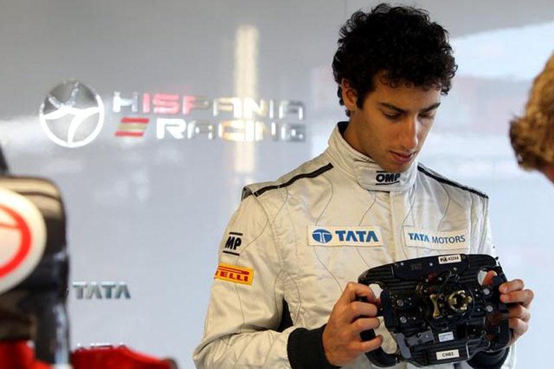 Daniel Ricciardo correrá até o final do ano pela Hispania