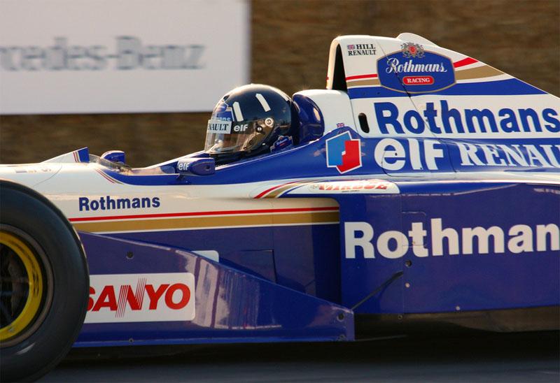 A Williams fez parceria de sucesso com a Renault nos anos 1990