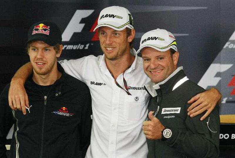 Em 2009, Barrichello e o próprio Vettel recortaram a distância para o líder Button