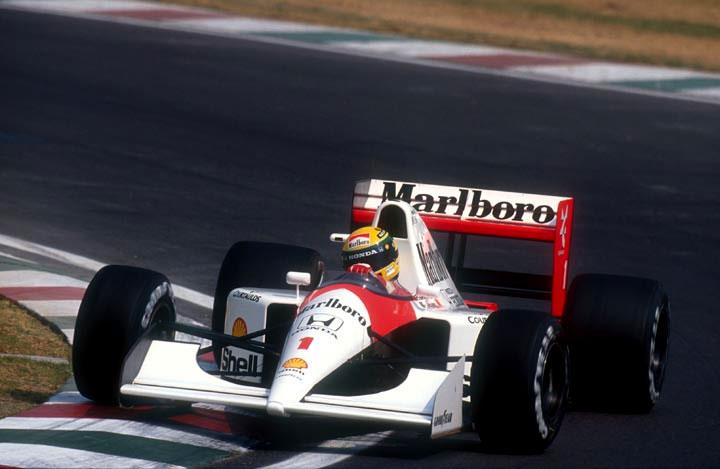 Ayrton Senna no GP do Japão de 1991