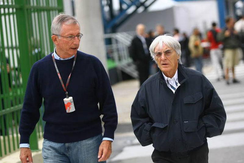 Tamas Rohonyi e Bernie Ecclestone