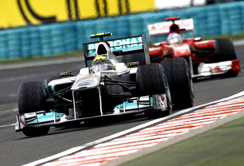 Nico Rosberg em Hungaroring
