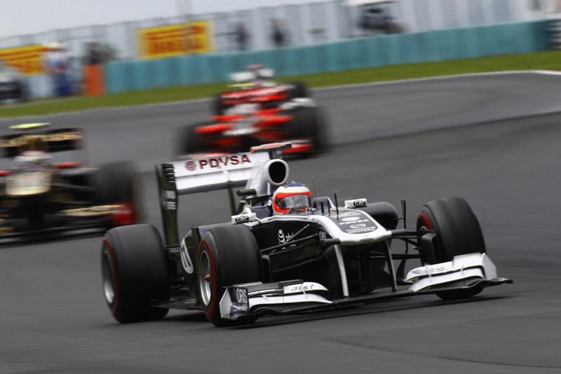 Barrichello durante GP da Hungria