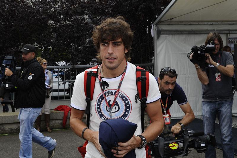 Alonso tenta sua primeira vitória em Spa