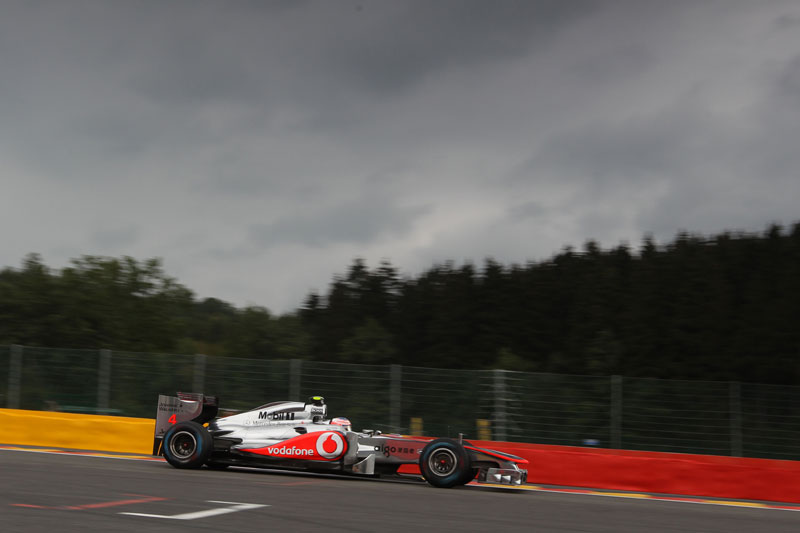 Jenson Button em Spa-Francorchamps