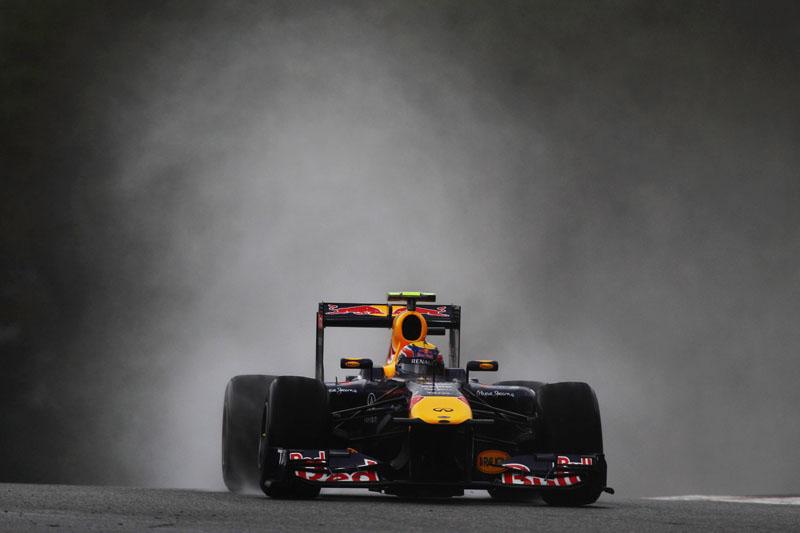 Webber foi menos de um décimo mais rápido que Hamilton