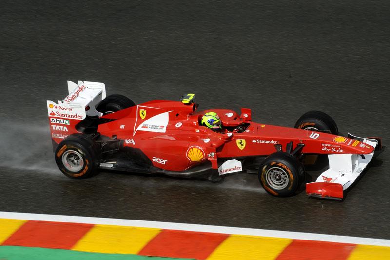 Felipe Massa em Spa-Francorchamps