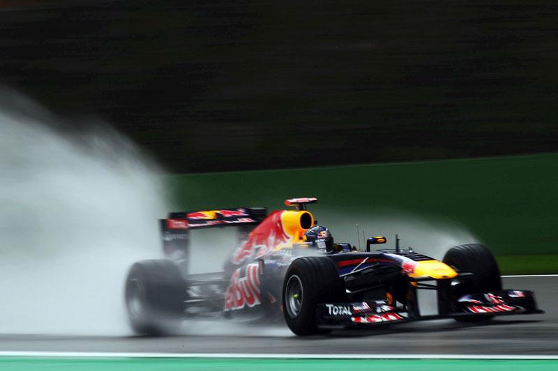 Sebastian Vettel em Spa-Francorchamps