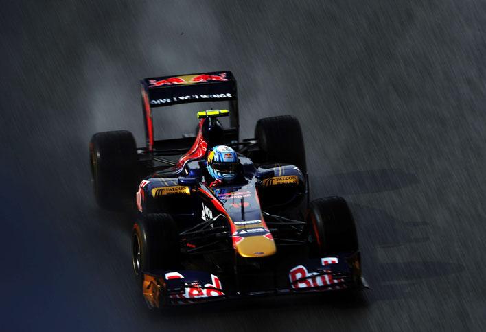 Alguersuari conquistou a melhor posição de largada da carreira