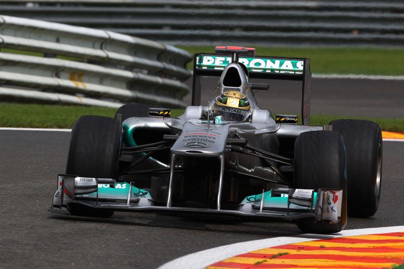 Schumacher superou 19 carros na corrida