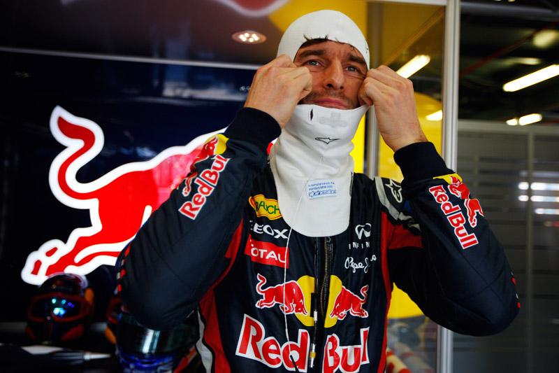 Webber sofreu muito com o desgaste dos pneus durante a prova