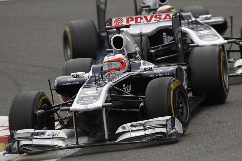 Barrichello gostou do ritmo do carro na Bélgica