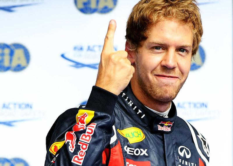 Vettel não parece muito disposto a correr por pontos nas últimas etapas