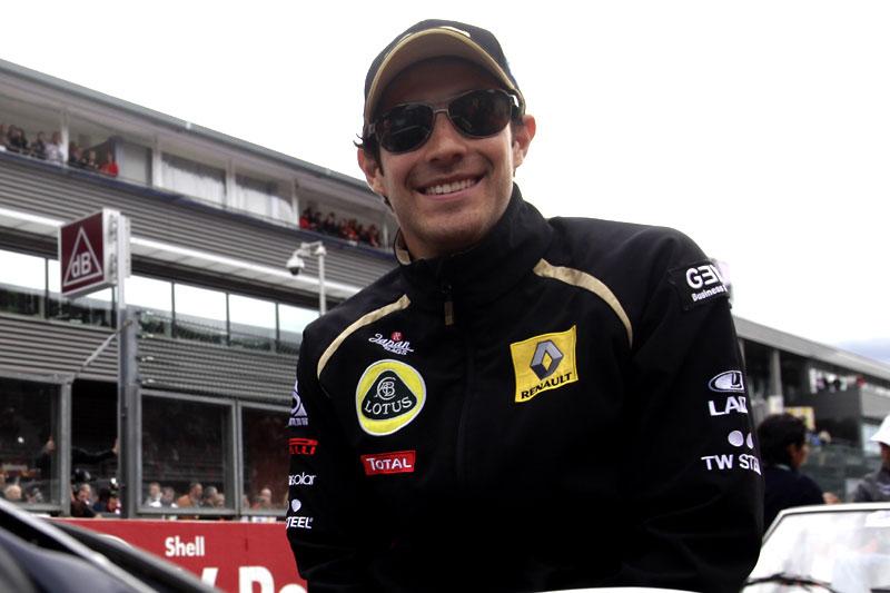 Bruno Senna: tranquilidade e confiança em Monza