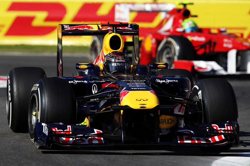 Sebastian Vettel em Monza