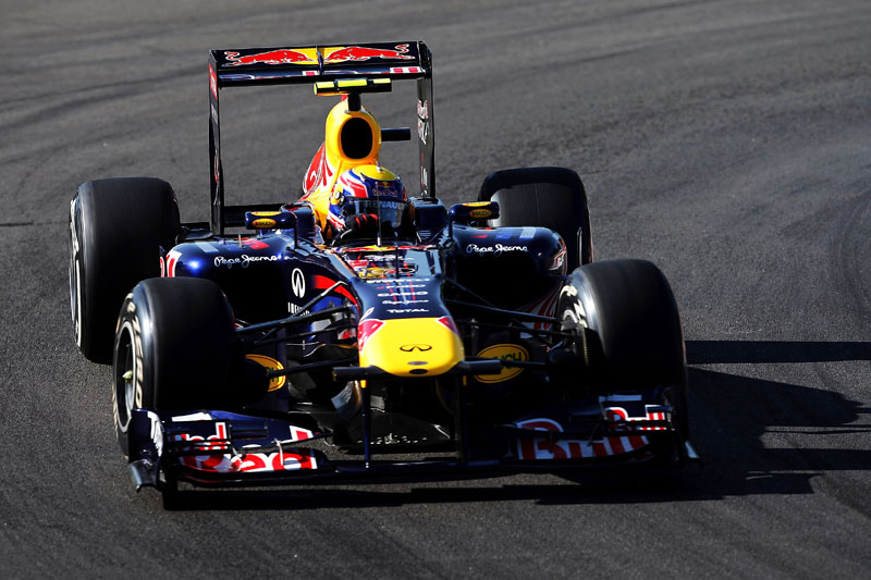 Webber foi apenas o sexto nos treinos em Monza